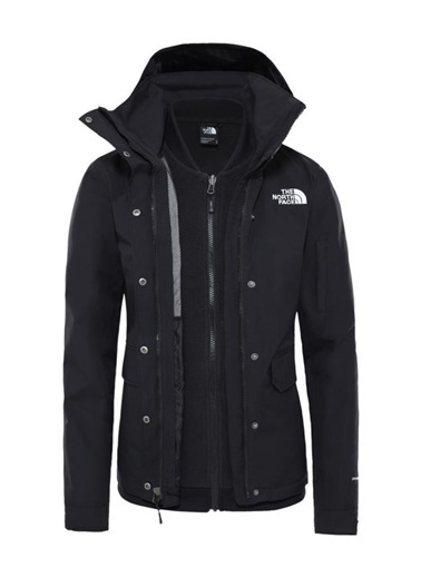 The North Face The Northface Kadın  Pınecroft Trı  Ceket Nf0A4M8Ikx71 Renkli